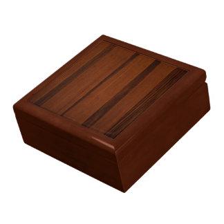 Estilo de madera cajas de recuerdo