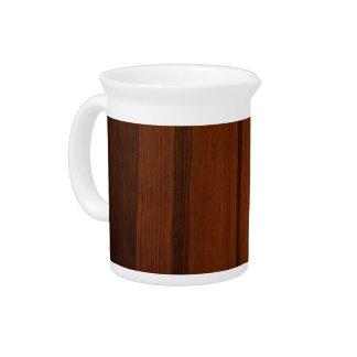 Estilo de madera jarra