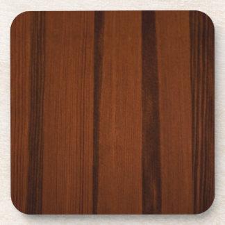 Estilo de madera posavasos
