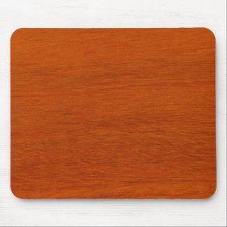 Estilo de madera pulido Mousepad Tapetes De Raton