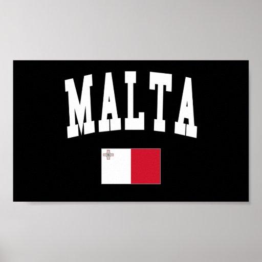 Estilo de Malta Impresiones