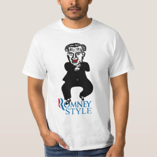 Estilo de Mitt Romney Playera