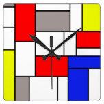 Estilo de Mondrian Relojes