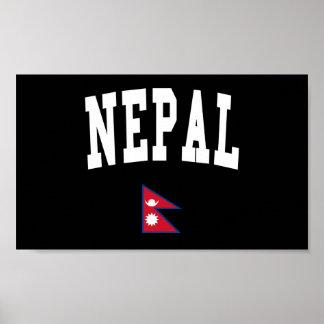 Estilo de Nepal Impresiones