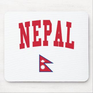 Estilo de Nepal Alfombrillas De Raton