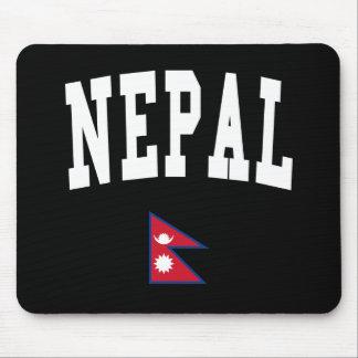 Estilo de Nepal Tapetes De Ratón