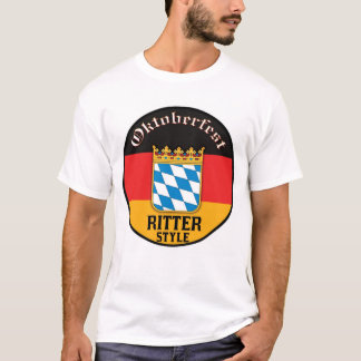 Estilo de Oktoberfest - de Ritter Playera