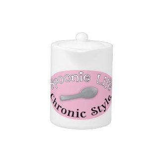 Estilo de Spoonie - rosa