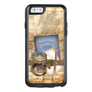 Estilo de Steampunk del viaje del vintage Funda Otterbox Para iPhone 6/6s