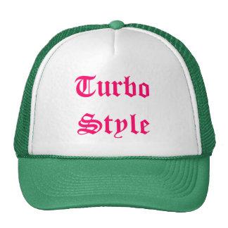 Estilo de Turbo Gorros