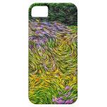 Estilo de Van Gogh del campo del Wildflower iPhone 5 Protector