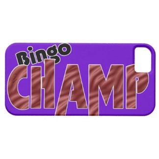 Estilo de Vegas del campeón del campeón del bingo iPhone 5 Funda