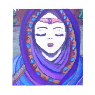 Estilo del arte de la fantasía de la reina Shae de Bloc De Papel