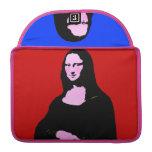 Estilo del arte pop de Mona Lisa Fundas Macbook Pro