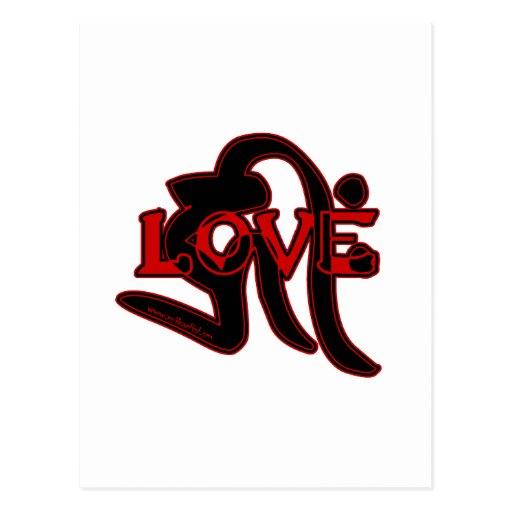 Estilo del budista de Tendai del amor Postal