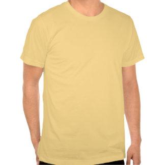 Estilo del color de la MANTEQUILLA: T básico de Am Camiseta