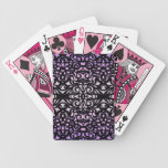 Estilo del damasco de los naipes cartas de juego