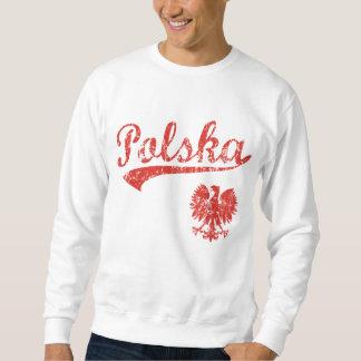 Estilo del deporte de Polska Eagle Sudaderas Encapuchadas
