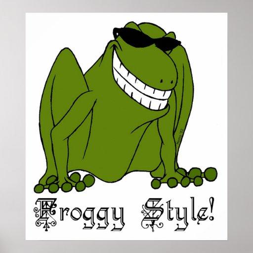¡Estilo del Froggy! Impresiones