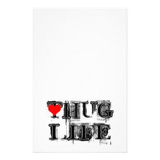 Estilo del Grunge de la vida del abrazo Papeleria De Diseño