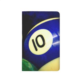 Estilo del Grunge de las bolas de la mesa de billa Cuadernos