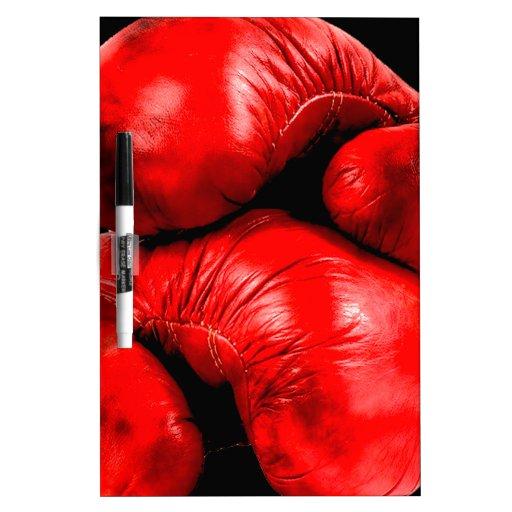 Estilo del Grunge del boxeador de los guantes de b Pizarra