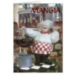 ESTILO DEL ITALIANO DE MANGIA=THANKSGIVNG TARJETON