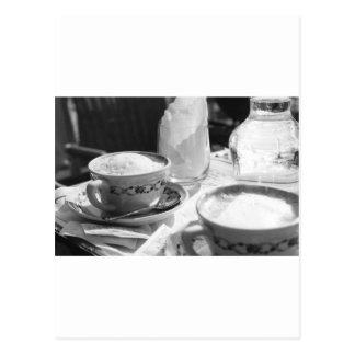 Estilo del italiano del café postal