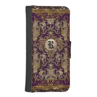 Estilo del libro viejo de Abatronia Royale Funda Tipo Billetera Para iPhone 5