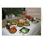 Estilo del Lithuanian de la Nochebuena Tarjetas