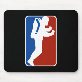 Estilo del logotipo de la liga tapetes de ratones