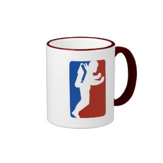 Estilo del logotipo de la liga taza de dos colores