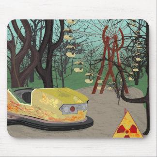 Estilo del parque temático de la tierra de la tapete de ratón
