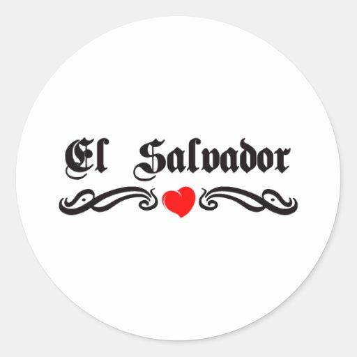 Estilo del tatuaje de Egipto Pegatina Redonda