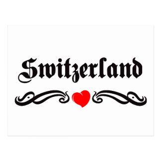 Estilo del tatuaje de Suecia Postales
