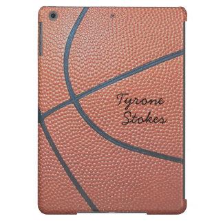 Estilo del texture_Autograph de Spirit_Basketball Funda Para iPad Air