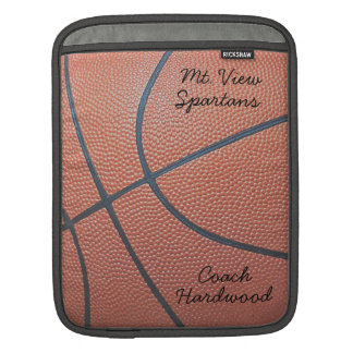 Estilo del texture_Autograph de Spirit_Basketball  Fundas Para iPads