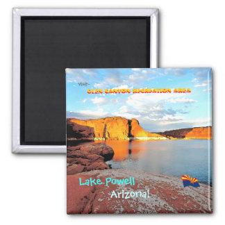 Estilo del vintage de Powell del lago Imán De Frigorifico