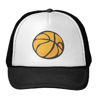 Estilo dibujado del baloncesto a disposición gorro de camionero