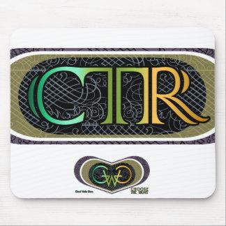 Estilo elegante del CTR Mousepad - un CC04 Tapete De Ratones
