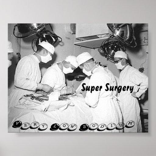 Estilo estupendo #1 del poster de la cirugía