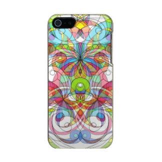 estilo étnico del caso del iPhone 5/5s Funda Para iPhone 5 Incipio Feather Shine