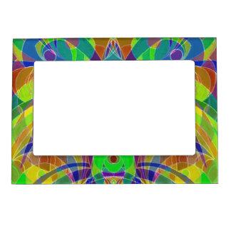 Estilo étnico del marco magnético marcos magneticos de fotos