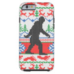 Estilo feo ido del punto del suéter del navidad de funda de iPhone 6 tough