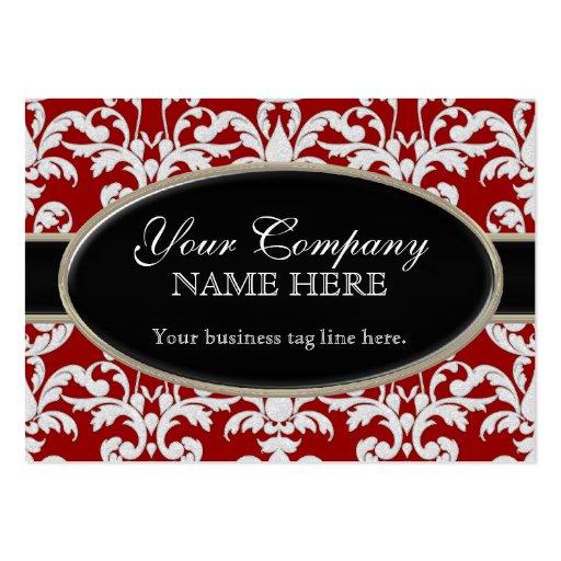 Estilo floral del remolino moderno lujoso elegante tarjeta de negocio