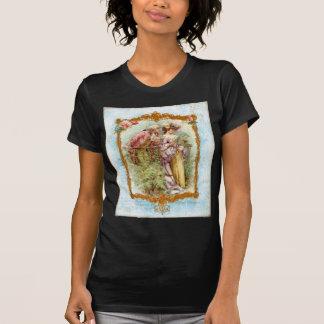 Estilo francés de la regencia de los pares camisetas