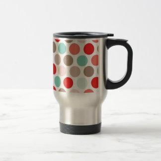 Estilo fresco del diseño del color del modelo de l taza de café