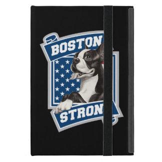 Estilo FUERTE del escudo de BOSTON TERRIER iPad Mini Funda