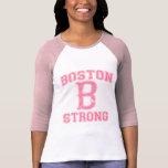 Estilo fuerte del Grunge de Boston B Camisetas