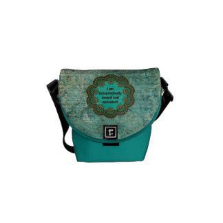 Estilo gitano independientemente poseído bolsas de mensajería